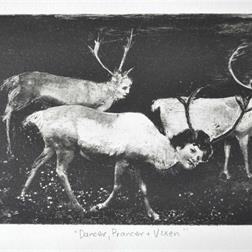 Dancer Prancer and Vixen
